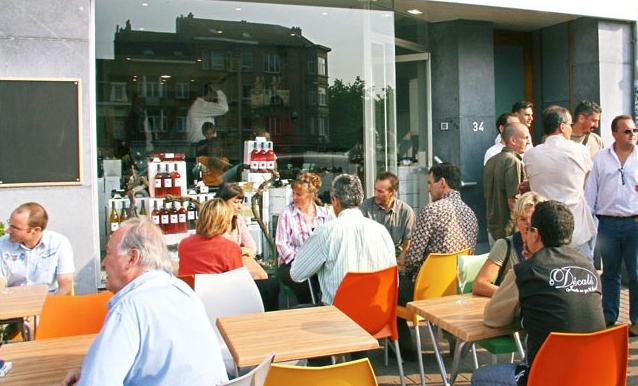 Wine in the city restaurant bruxelles jette 1090 for Le miroir jette