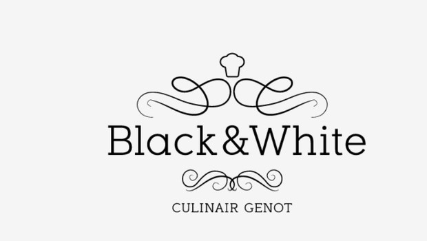 RESTAURANT BLACK AND WHITE