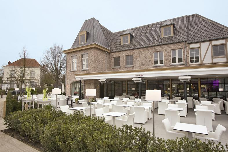 Terrazza latem belgisch restaurant sint martens latem 9830 for Canape sint martens latem