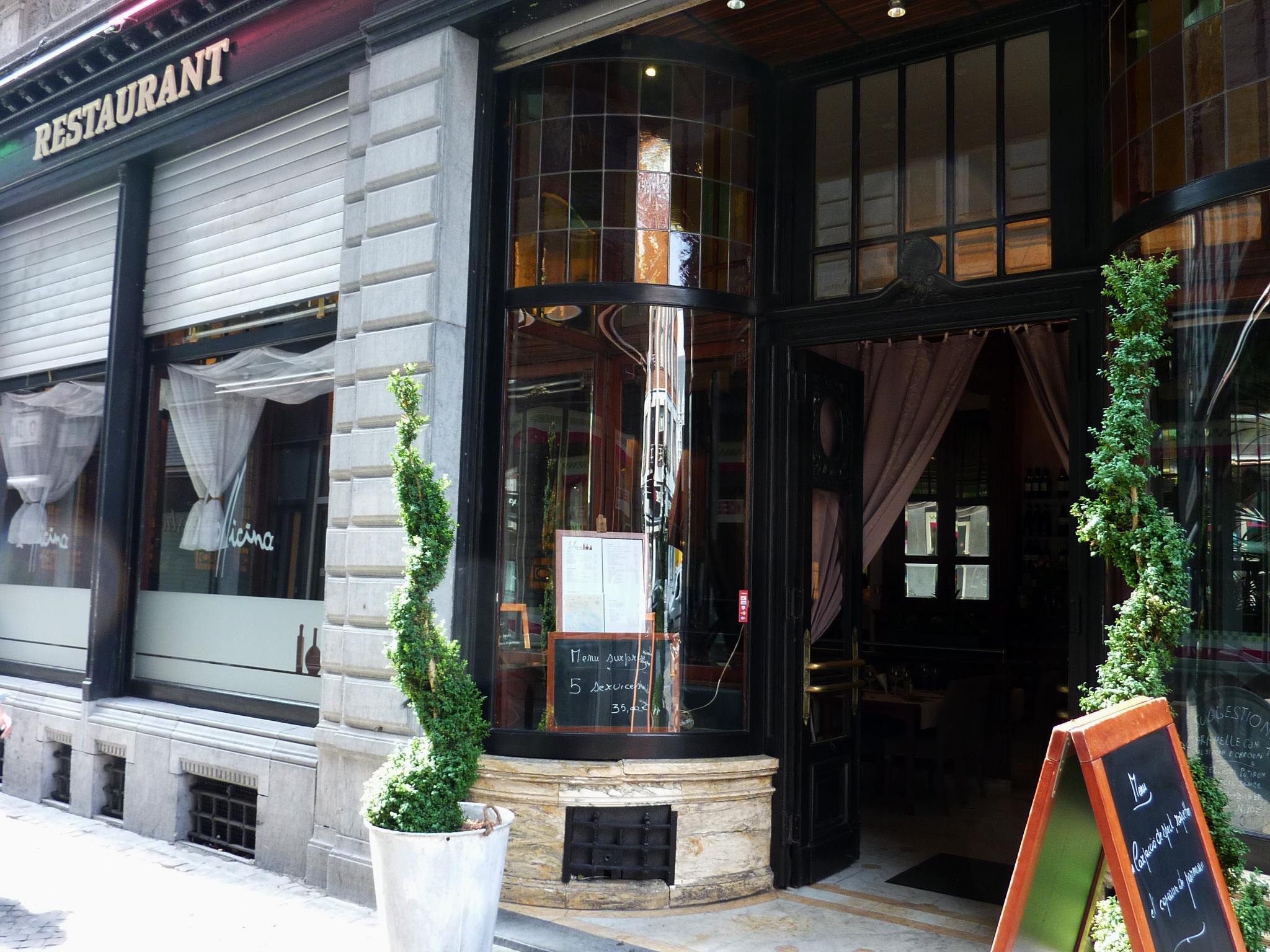 l 39 officina restaurant italien liege 4000. Black Bedroom Furniture Sets. Home Design Ideas