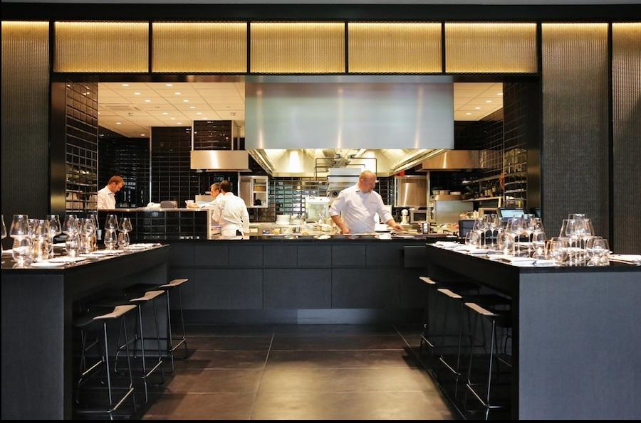 The restaurant by pierre balthazar gastronomische for Cuisine ouverte restaurant