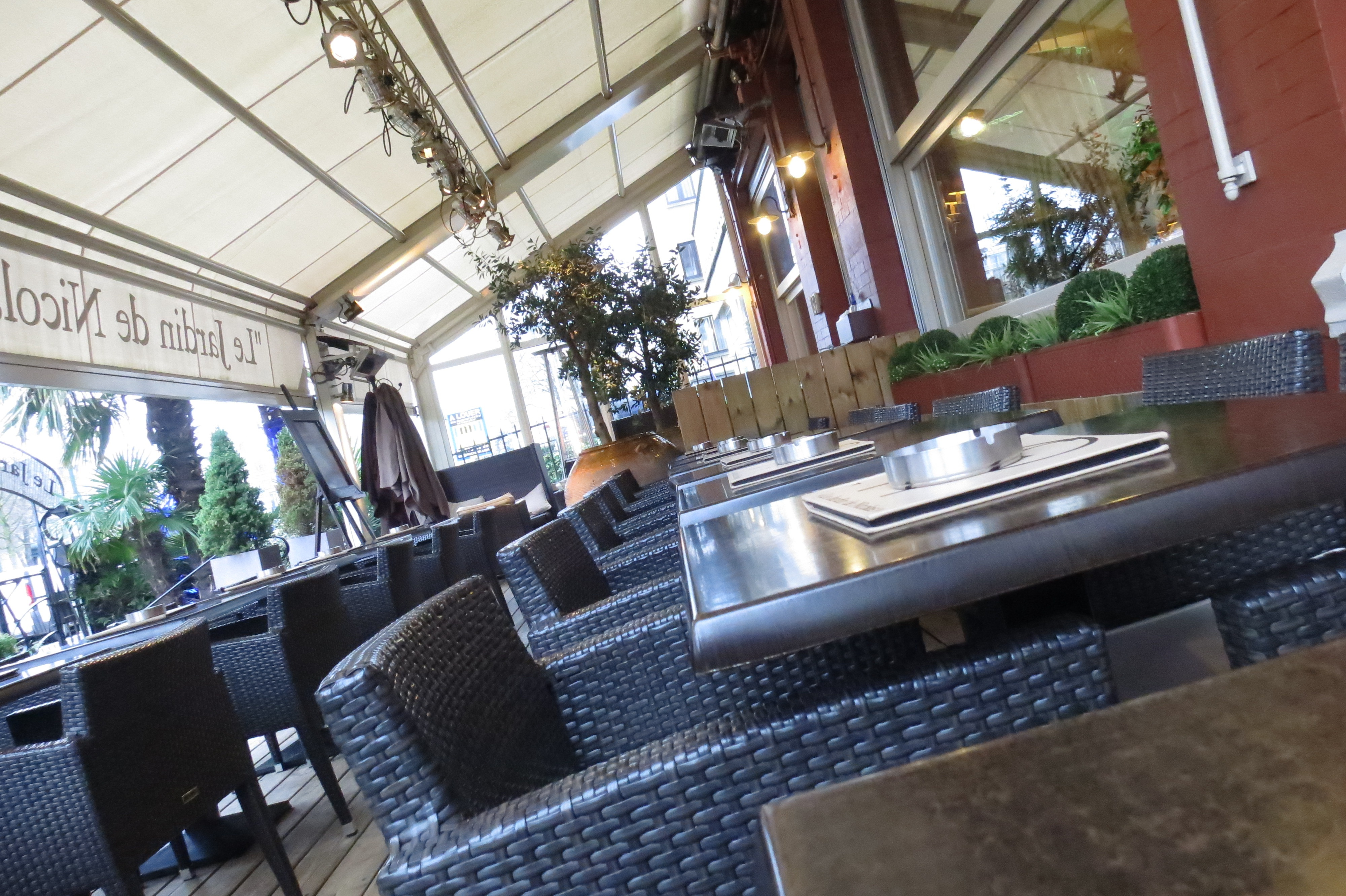 Le jardin de nicolas restaurant fran ais bruxelles - Resto terrasse jardin bruxelles nanterre ...