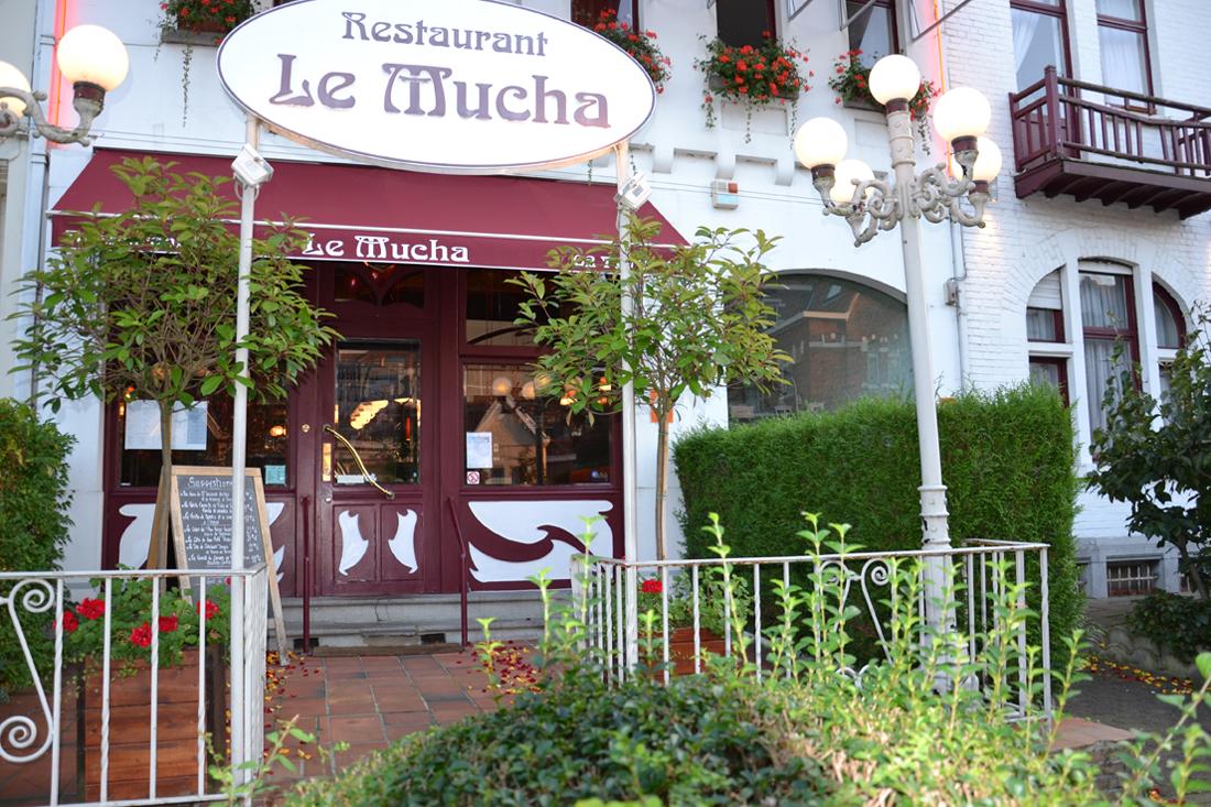 Le mucha restaurant fran ais bruxelles woluwe saint - Resto terrasse jardin bruxelles nanterre ...