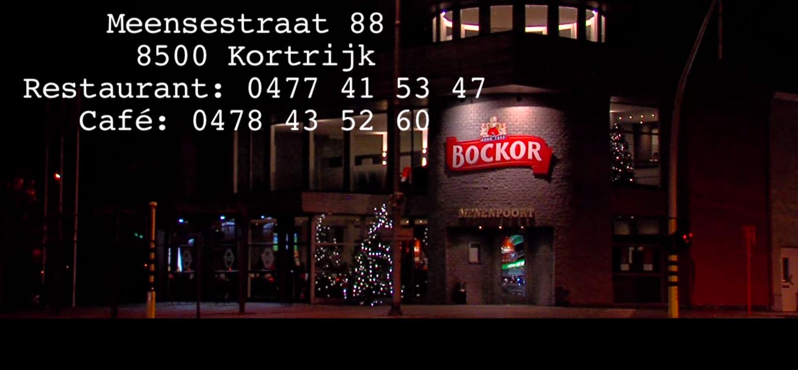 De menenpoort frans restaurant kortrijk 8500 - Eigentijds restaurant ...