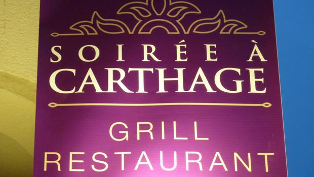SOIREE À CARTHAGE RESTAURANT GRILL